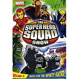 The Super Hero Squad Show: Quest For The Infinity Sword Volume Four