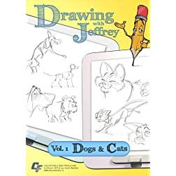 Drawing with Jeffrey - Volume 01 Dogs & Cats