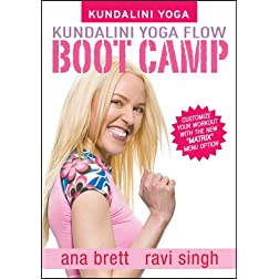 Kundalini Yoga Flow Bootcamp with Ana Brett & Ravi Singh (ALL LEVELS)