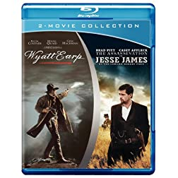 Wyatt Earp / The Assassination of Jesse James by the Coward Robert Ford [Blu-ray]