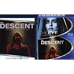 The Eye / The Descent (Two-Pack) [Blu-ray]