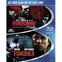 The Punisher / Punisher: War Zone (Two-Pack) [Blu-ray]