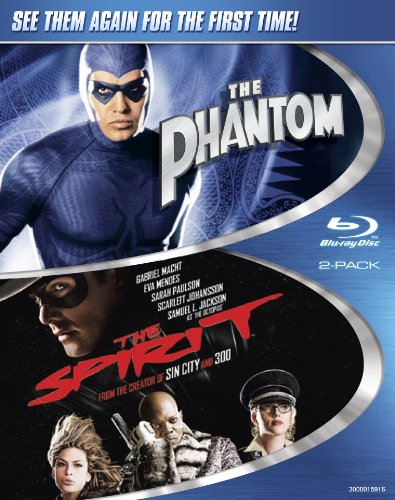 The Phantom / The Spirit (Two-Pack) [Blu-ray]
