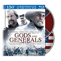 Gods and Generals : Extended Director's Cut (Blu-ray Book Packaging)