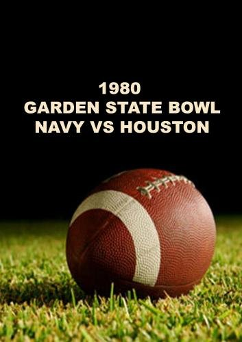 1980 Garden State Bowl - Navy vs Houston - First Half (Volume 1 of 2 Volume set)