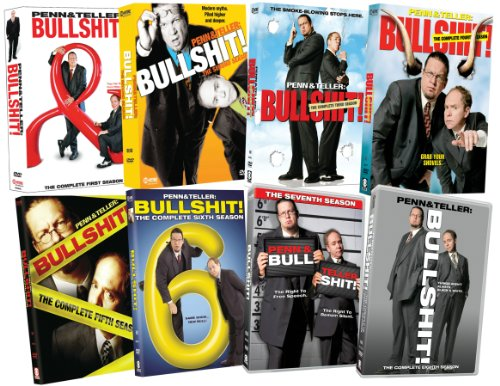 Penn & Teller Bullshit: Eight Season Pack