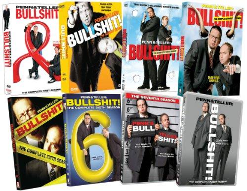 Penn & Teller Bullshit: Eight Season Pack