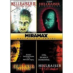Miramax Hellraiser Series: Hellraiser III: Hell on Earth / Hellraiser IV: Bloodline / Hellraiser V: Inferno / Hellraiser VI: Hellseeker