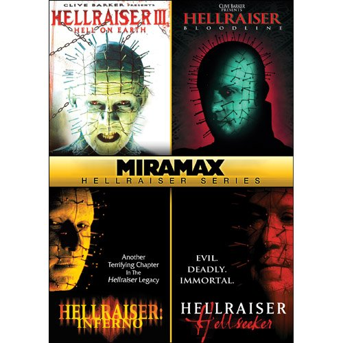 Miramax Hellraiser Series: Hellraiser III: Hell on Earth / Hellraiser IV: Bloodline / Hellraiser V: Inferno / Hellraiser VI: Hellseeker