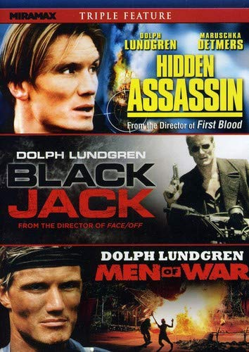 Dolph Lundgren Triple Threat: Hidden Assassin / Blackjack / Men of War