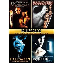 Miramax Psycho Killer Series: Halloween: H2O / Halloween: Resurrection / Halloween VI: The Curse of Michael Meyers / Mother's Boys