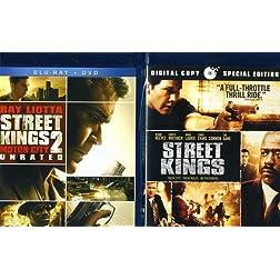 Street Kings / Street Kings 2: Motor City [Blu-ray]