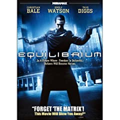 Equilibrium Featuring Christian Bale