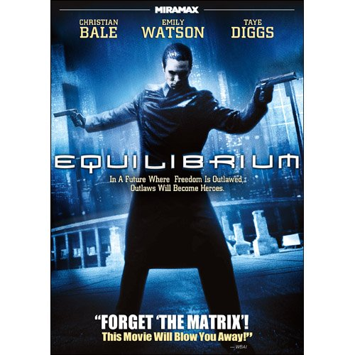 Equilibrium Featuring Christian Bale