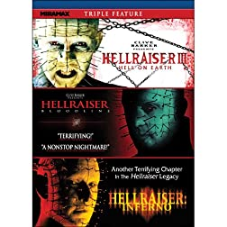 Hellraiser Triple Feature: Hellraiser III: Hell on Earth / Hellraiser IV: Bloodline / Hellraiser V: Inferno