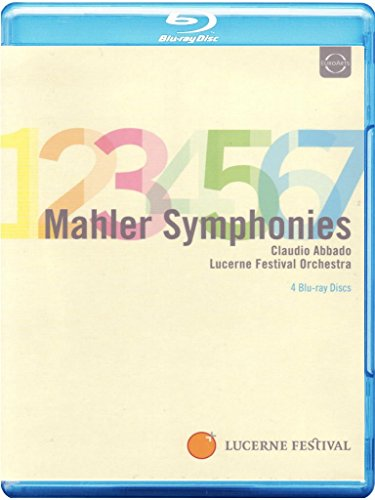 Abbado Conducts Mahler Symphonies 1-7 [Blu-ray]