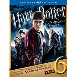 Harry Potter and the Half-Blood Prince (Ultimate Edition) [Blu-ray]