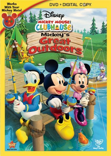 Mickey Mouse Clubhouse: Mickey's Great Outdoors(DVD/Digital Copy)