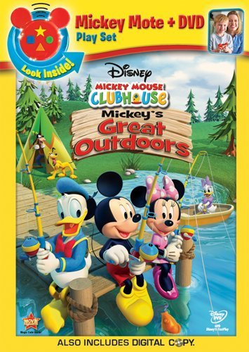 Mickey Mouse Clubhouse: Mickey's Great Outdoors(DVD/Digital Copy + Mickey Mote)