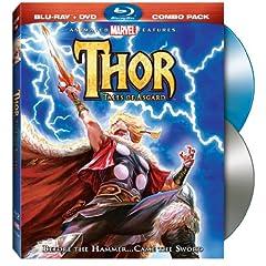 Thor: Tales of Asgard (Blu-ray/DVD Combo)