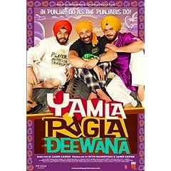 Yamla Pagla Deewana (New Comedy Hindi Film / Bollywood Movie / Indian Cinema DVD)