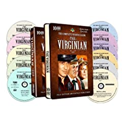 The Virginian - The Complete Fourth Season - 30 Full Color Episodes - 10 DVD In a Special Embossed Tin!