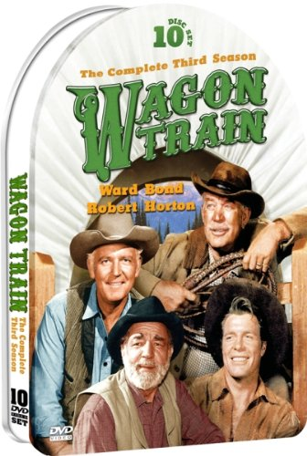 Wagon Train: The Complete Third Season - 37 Episodes - 10 DVD in an Embossed Collectible Metallic Tin!