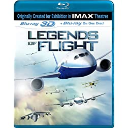 Legends of Flight (3D)(IMAX) [Blu-ray]