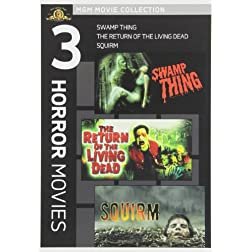 Swamp Thing & Return of Living Dead & Squirm