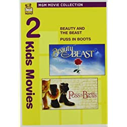 Beauty & The Beast & Puss in Boots