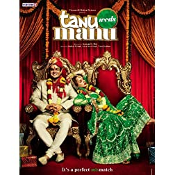 Tanu Weds Manu (New Hindi Film / Bollywood Movie / Indian Cinema DVD)