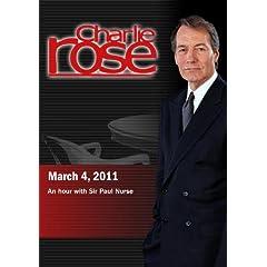 Charlie Rose - Sir Paul Nurse (March 4, 2011)