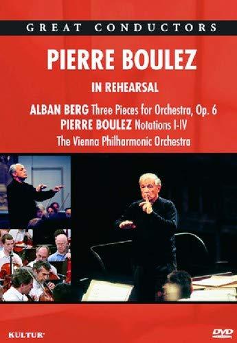 Pierre Boulez In Rehearsal