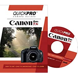 Canon T3i by Quickpro Camera Guides DVD