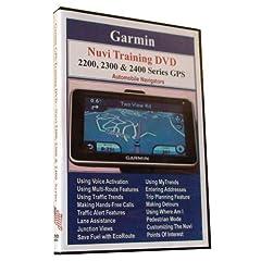 Garmin Nuvi 2200, 2300 & 2400 Series Training DVD