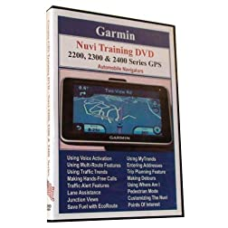 Garmin Nuvi 2200, 2300 & 2400 Series Training DVD