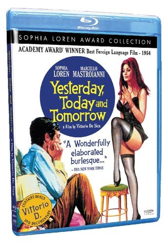 Yesterday, Today and Tomorrow (Sophia Loren Award Collection) [Blu-ray]