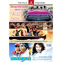 Indian Summer / Heartbreak Hotel / Aspen Extreme - Triple Feature