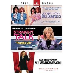 Big Business / Straight Talk / V.I. Warshawski - Triple Feature
