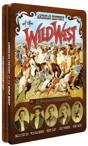 American History of The Wild West - Collectible Tin
