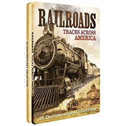 Railroads - Tracks Across America - Collectible Tin