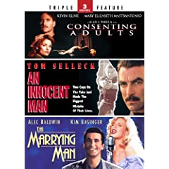 Consenting Adults / An Innocent Man / The Marrying Man - Triple Feature