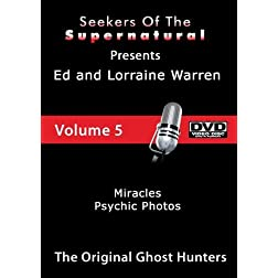 Ed and Lorraine Warren Physic Photos and Miracles