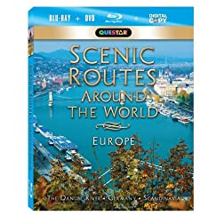 Scenic Routes Around the World: Europe [Blu-ray Combo Pack: Blu-ray, DVD & Digital Copy]