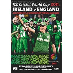 Ireland V England ICC Cricket World Cup Group Match