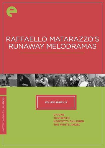 Eclipse Series 27: Raffaello Matarazzo's Runaway Melodramas - The Criterion Collection (Chains / Tormento / Nobody's Children / The White Angel)