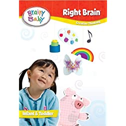 Brainy Baby Right Brain DVD Deluxe Edition