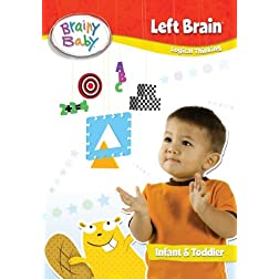 Brainy Baby Left Brain DVD Deluxe Edition