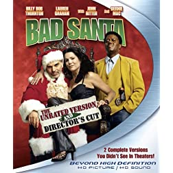 Bad Santa (Unrated Director's Cut) [Blu-ray]