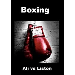 Ali vs Liston - Boxing